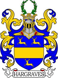 Hargraves Family Crest and Coat of Arms