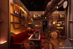 Интерьер в стиле стимпанк (28 фото), как оформить дизайн квартиры в стиле стимпанк