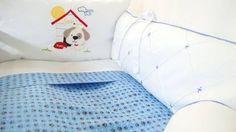 Veja nosso novo produto Kit berço dog azul ! Se gostar, pode nos ajudar pinando-o em algum de seus painéis :)