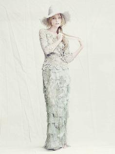 Alberta Ferretti | Sasha Pivovarova | Paolo Roversi  #photography | Alberta Ferretti Spring 2011 Campaign