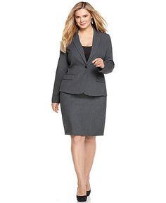 Calvin Klein Plus Size Jacket, Single Button Flap Pocket - Plus Size Jackets & Blazers - Plus Sizes - Macy's