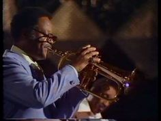 Gone but never to be forgotten - Clark Terry, here with his all-star Sextet at the Montreux Jazz Festival back in 1977: 'Pennies from Heaven'. RIP