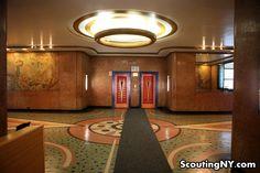 1930s architecture, art art deco interior design, vintage bronx, nyc