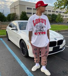 Black Men Street Fashion, Dope Fashion, Teen Guy Fashion, Mens Fashion, High Fashion, Dope Outfits For Guys, Trendy Outfits, Men's Outfits, Rapper Outfits