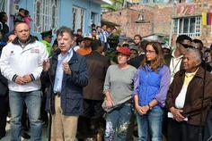 """IPIALES, DEPARTAMENTO DE NARIÑO, COLOMBIA (Mc, 13 FEB 2013).""""Presidente Santos retiraría base militar de Ipiales, Nariño"""". (IPITIMES.COM® /FUENTE: RCN)."""