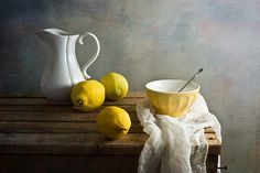 lemons amazing still life work! by Anna Nemoyamazing still life work! by Anna Nemoy Still Life Photography, Art Photography, Texture Photography, Still Life Images, Still Life Fruit, Fruit Painting, Painting Still Life, Wow Art, Painting Inspiration