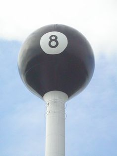 Eight Ball Water Tower, Tipton, Missouri #viqua