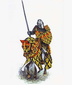 """King Philip IV of France in full armour"""