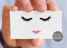 Lashes - Lips BUSINESS CARDS Front & Back | skincare, marketing, printed, R+F, personalized, Rodan Fields by MADEforMEshop on Etsy https://www.etsy.com/listing/483311636/lashes-lips-business-cards-front-back