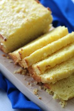 Keto Lemon Bread This Low Carb Lemon Bread recipe reminds me of Starbucks glazed lemon bread, but with a fraction of the carbs. It is so satisfying and delicious and perfect with a cup of coffee. Low Carb Sweets, Low Carb Desserts, Low Carb Recipes, Ketogenic Recipes, Ketogenic Diet, Bread Recipes, Pudding Recipes, Baking Recipes, Cake Recipes