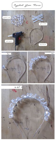 DIY CRYSTAL TIARA