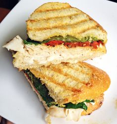 » Turkey, Red Pepper, and Spinach Panini The Live-In Kitchen