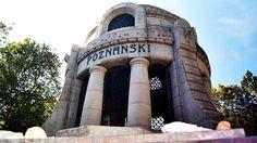 Mauzoleum Izraela Poznańskiego na cmentarzu przy Brackiej