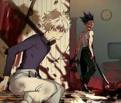 Killua, Alluka Zoldyck, Hisoka, Hunter Anime, Hunter X Hunter, City Hunter, Fanarts Anime, Anime Films, Anime Boys