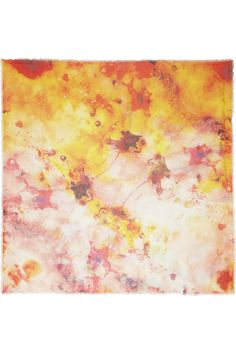 dyeing inspiration __ Athena Procopiou|Comets modal and cashmere-blend scarf