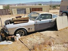 '65 Shelby GT350 Desert Find - Mustang Monthly Magazine