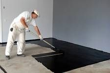 How to Prepare a Concrete Floor for Painting. would love to do this in our basement & Garage - March 02 2019 at Concrete Basement Floors, Painted Concrete Floors, Painting Concrete, Stained Concrete, Floor Painting, Garage Flooring, Diy Concrete, Flooring Options, Flooring Ideas