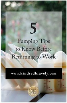 5 Pumping Tips to Know Before Returning to Work Breastfeeding and returning to work soon? Here are 5 Pumping At Work, Breastfeeding And Pumping, Preparing For Baby, Return To Work, Baby On The Way, Baby Feeding, Breast Feeding, Everything Baby, Baby Time