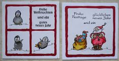 Hallo allemaal, ik laat jullie toch nog even zien welke kaarten ik heb gemaakt op de beurzen in Duitsland, vandaar de Duitse teksten. H...