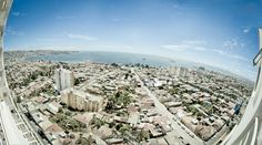 Bahía de Valparaíso desde el cerro Placeres. Foto de Sebastián Luzzi.