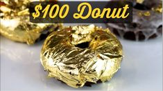 $100 Donut | The Worlds Most Expensive Donut - YouTube Luxury Food, Most Expensive, Bagel, Doughnut, Donuts, The 100, Toys, World, Youtube