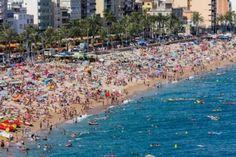 Playa de Lloret del Mar, España