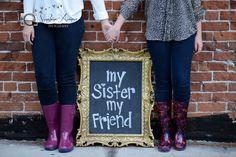 Rainy Day Sisters' Photoshoot by Sunshine Avenue Photography.