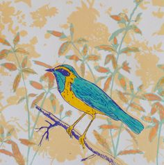 The 84 best spring greeting cards by british artists published by vintage bird by printmaker and mixed media artist claire cockayne blank art cards m4hsunfo