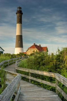 Fire Island, New York - 50 miles from Manhattan. Accessible by ferry.