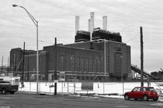 Southwark Generating Station; an old, abandoned oil-fired plant in South Philly on the Delaware River.