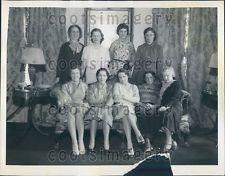 1934 Michigan Lady Flyers Members of 99 Club  Press Photo