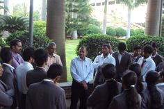 The students had a glimpse of a world class seed processing facility and its maintenance.