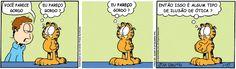 Tirinhas do Garfield