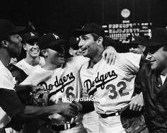 1965 world series | ... Angeles Dodger Pitcher Sandy Koufax, 1965 World Series Win Baseball