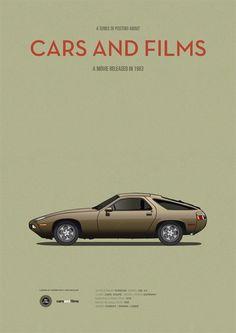 Risky Business ~ Minimal Movie Poster by Jesus Prudencio ~ Cars And Films Series Porsche 944, Risky Business Movie, Car Illustration, Business Illustration, Car Posters, Movie Poster Art, Car Drawings, Automotive Art, Fast Cars