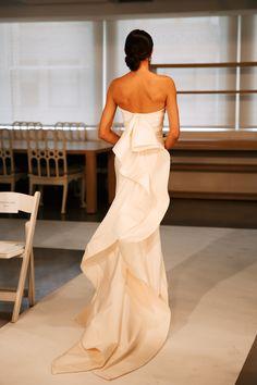 Oscar de la Renta, Bridal 2015. Photo by @Natasha S S Jahangir http://www.onephotographatatime.tumblr.com/