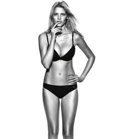fe5fff159a Lara Stone for Calvin Klein Push Positive F W