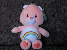 Care Bears Plush, Cleveland, Cheer, Dinosaur Stuffed Animal, Characters, Play, Dolls, Animals, Baby Dolls