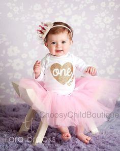 First Birthday Onesie 1st Birthday Outfit 1st Birthday Girl