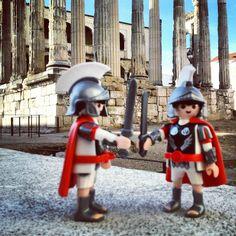 Romanos en Mérida