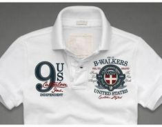 Patches and Embroideries for CATBALOU Polos #Polo Polo Shirt Outfits, Mens Polo T Shirts, Boys T Shirts, Golf Shirts, Polo T Shirt Design, Polo Design, Camisa Polo, Polo Shirt Embroidery, Embroidery Patches