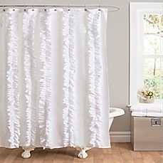 Image Of Belle Ruffle Shower Curtain