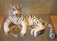 "Детский торт ""Белый тигр"""