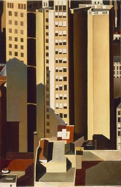 Charles Sheeler: Across Media Charles Sheeler (American, 1883–1965) Skyscrapers 1922 Oil on canvas The Phillips Collection, Washington, D.C.