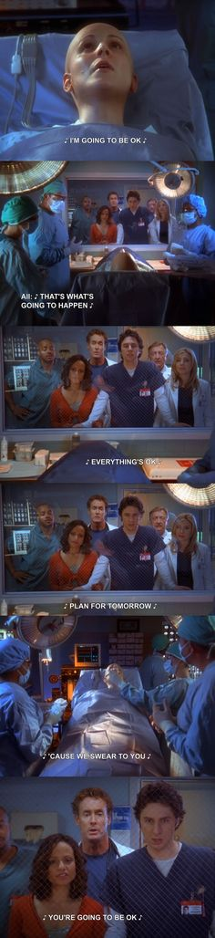 "When everyone was there for a patient during the musical episode. | 14 ""Scrubs"" Moments That Make You Feel Feelings Every Time"