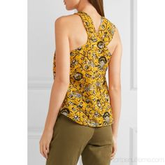 Yellow and black cotton Slips on cotton Machine wash Imported Cotton Slip, Printed Cotton, Isabel Marant, How To Make Clothes, Making Clothes, Army Green Pants, Ancient Greek Sandals, Black Cotton, Vogue