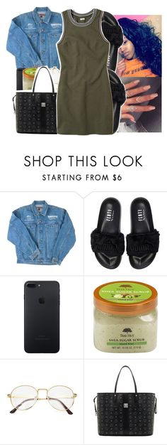 """"""""""" by princessjolie ❤ liked on Polyvore featuring Puma, Power of Makeup, MCM and Hollister Co."""