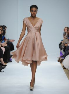 Leanne Marshall - Mercedes-Benz Fashion Week Fall 2014 The color and the flow...awesome