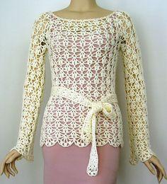 Ravelry: Isabeau Top pattern by Doris Chan
