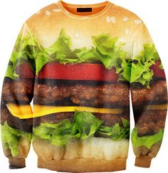 Cheeseburger Sweater | 11 Must Have Burger Accessories